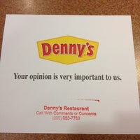 Photo taken at Denny's by Danielle B. on 3/5/2012