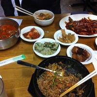 Photo taken at Myung-dong Soft Tofu House Korean Restaurant by Ferdinand on 8/4/2012