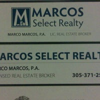 Photo taken at Marcos Select Realty by Marco M. on 3/2/2012