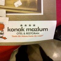 Photo taken at Konak Mazlum Restaurant by Alphan E. on 7/24/2012