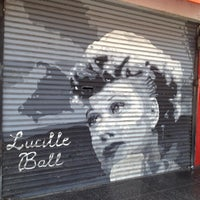 Photo taken at Lucille Ball Mural by Thirsty J. on 6/16/2012