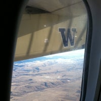 Photo taken at Helena Regional Airport (HLN) by Sarahann B. on 2/3/2012