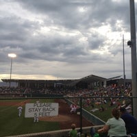 Photo taken at Brent Brown Ballpark by Tom M. on 7/20/2012