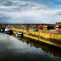 Photo taken at Port Seton Harbour by Stephen R. on 7/24/2012