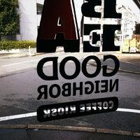 Das Foto wurde bei Be A Good Neighbor Coffee Kiosk von Taisei M. am 3/1/2012 aufgenommen