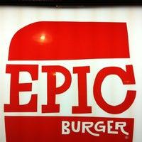Photo taken at Epic Burger by Jay K. on 3/30/2012