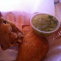 Photo taken at Lito's Empanadas by Binni S. on 2/27/2012