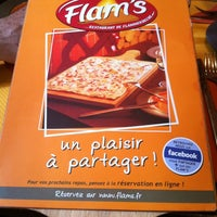 Photo taken at Flam's by Saziye's on 5/21/2012