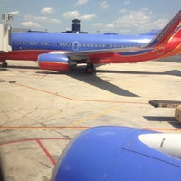 Photo taken at Southwest Airlines Flight 503 by GG on 5/29/2012