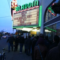 Photo taken at Aladdin Theater by Angela W. on 3/14/2012