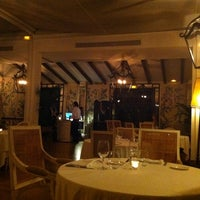 Photo taken at Hotel Restaurant La Malcontenta by Esther A. on 3/31/2012