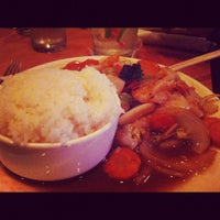 Photo taken at Song Thai Restaurant & Bar by Mona D. on 6/17/2012