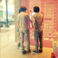 Photo taken at Sprinkles Cupcakes by Alex G. on 8/8/2012