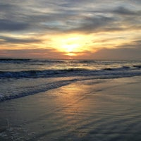 Photo taken at Madeira Beach by Jeff T. on 8/30/2012