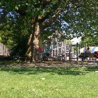 Photo taken at Wallingford Playfield by Amy D. on 7/12/2012