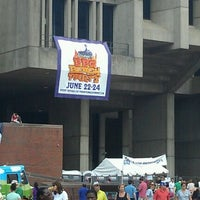 Photo taken at Boston City Hall by Brittany R. on 6/23/2012