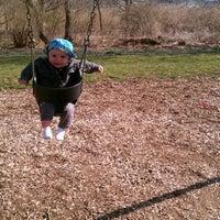 Photo taken at Veteran's Park Playground by David N. on 3/18/2012