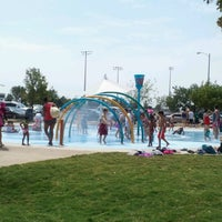 Photo taken at Splash Pad Nelson Park by Francisco P. on 8/13/2012
