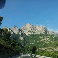 Photo taken at Monistrol de Montserrat by Priscila n. on 8/5/2012