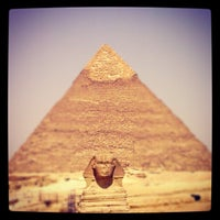 Photo taken at Great Sphinx of Giza by Rizky Prambudi Tanrian on 8/6/2012