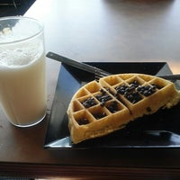 Photo taken at East Campus Dining Hall by Emily W. on 8/27/2012