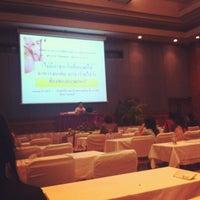 Photo taken at Nopparat Thara Room by ่Piriyaporn T. on 4/19/2012