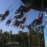 Photo taken at Silly Symphony Swings by Rick M. on 5/19/2012