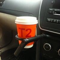Photo taken at T2 Tea House by Natasha B. on 4/29/2012