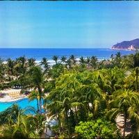 Photo taken at The Fairmont Acapulco Princess by Drako C. on 5/19/2012