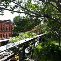 Photo taken at High Line 10th Ave Amphitheatre by Tiziana C. on 5/19/2012