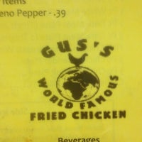 Photo taken at Gus's World Famous Fried Chicken by SOBBY on 5/1/2012
