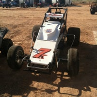 Photo taken at El Paso Speedway Park by Bruce S. on 6/8/2012