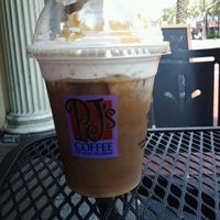 Photo taken at PJ's Coffee by Justin R. on 4/11/2012