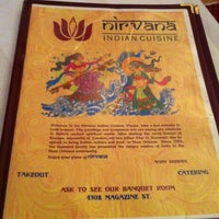 Photo taken at Nirvana Indian Cuisine by Shelley C. on 7/2/2012