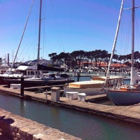 Photo taken at SF Marina Yacht Harbor by Tal T. on 6/24/2012