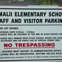 Photo taken at Kamali'i Elementary Hm of The Pueo by Howard D. on 2/13/2012