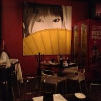 Photo taken at Japánika Sushi Bar & Teppanyaki by Lalo A. on 3/18/2012