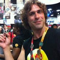 Photo taken at Official Spike Booth at Comic-Con by Jackie T. on 7/14/2012
