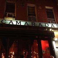 Photo taken at Camaradas El Barrio by Elinor M. on 7/8/2012
