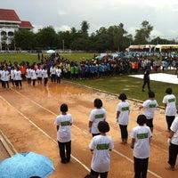 Photo taken at Ayutthaya Witthayalai School by Lookpuen on 9/5/2012