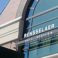 Photo taken at Albany-Rensselaer Station by Summer B. on 3/27/2012