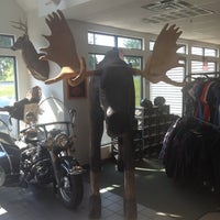 Photo taken at Big Moose Harley-Davidson by Jeremiah B. on 6/21/2012