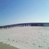Photo taken at Buckroe Beach by Vonnie m. on 3/29/2012