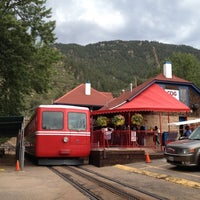 Photo taken at Pikes Peak Cog Railway by roxan63 on 8/11/2012