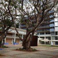 Photo taken at UCLA Franklin D. Murphy Sculpture Garden by Kristine N. on 4/14/2012