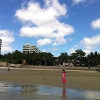Photo taken at Private Beach by natasiri j. on 5/20/2012