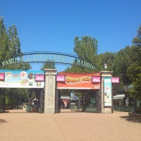 Photo taken at Parque de Atracciones de Madrid by Julio S. on 8/2/2012