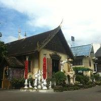 Photo taken at Wat Uppakut by KringNoon L. on 7/8/2012