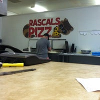 Photo taken at Rascals Pizza by Trey W. on 9/2/2012