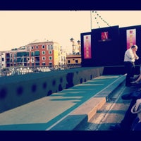 Photo taken at Isabel II Bridge 'Triana Bridge' by Sevilla d. on 7/19/2012